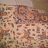 TEBETIAN OR ? LINEN TABLE CLOTH 80X100