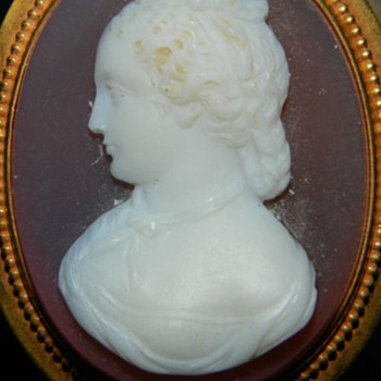 Late victorian agate cameo I enhanced!