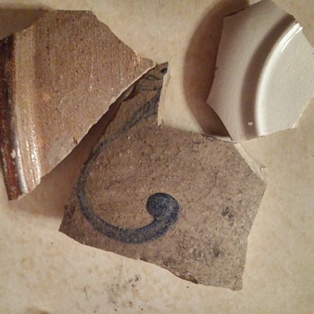 Ceramic shards unearthed  - Pottery
