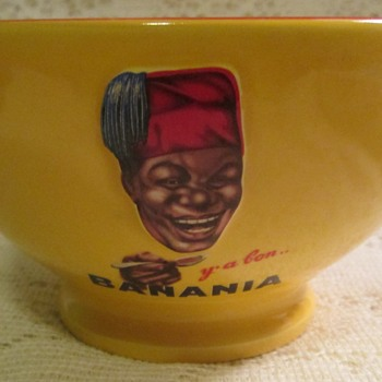 "Banania bowl ""Y'a Bon"" - Advertising"