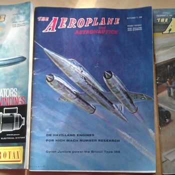 The Aeroplane and Astronautics Magazine From the 1960s - Paper