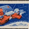 "1965 - Russia ""Voskhod 2"" Postage Stamp"