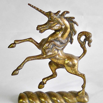 A Brass Unicorn - Animals