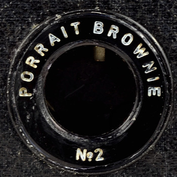 Portrait Brownie No.2 - Cameras
