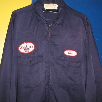 Abbotts , Abbott's Dairy , Bethlehem (Butztown) , Philadelphia , Pa. work uniforms - Mens Clothing