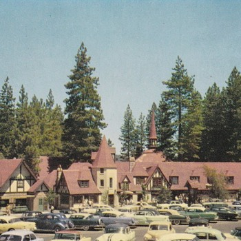 Lake Arrowhead Village Postcard #2