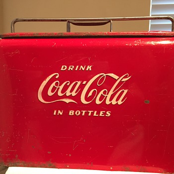 What type of Acton MFG Coca Coca Cooler?