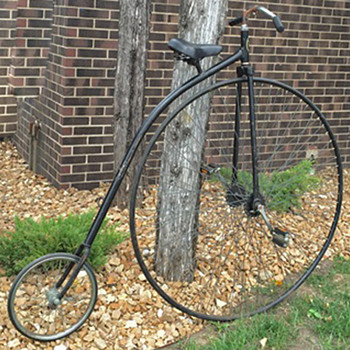 Replica of an 1890's Bicycle