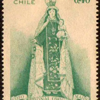 "Chile - ""O'Higgins Shrine"" Postage Stamps"