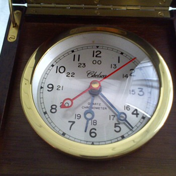 fairly old,..but no that old Chelsea quartz chronometer