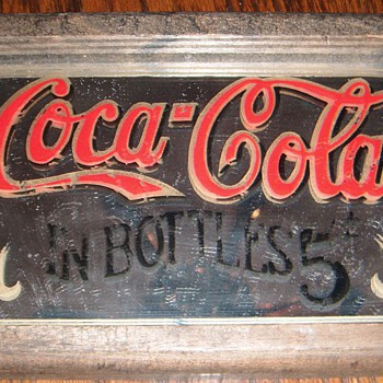 Coca Cola Mirror Sign - real or fake?