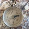 Henry Boker brass pocket watch made in Germany