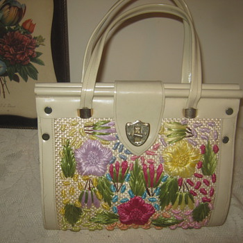 Favorite- Floral Vtg Bag  - Bags
