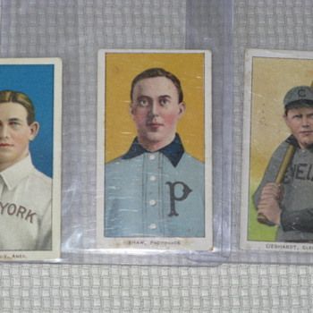 Old Tobacco Cards - Baseball