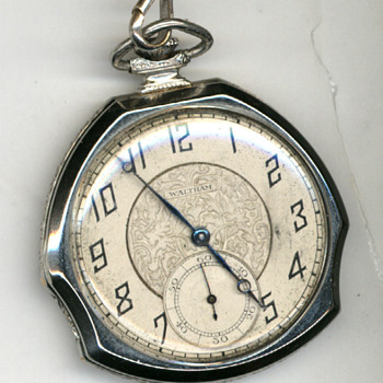 My mother-in-law's deco pocket watch - Pocket Watches