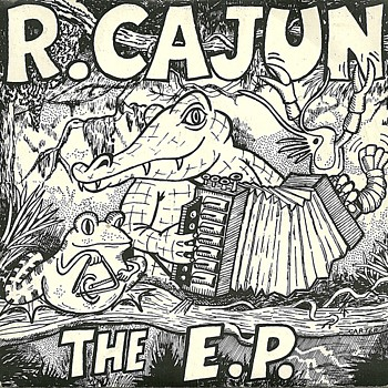 R. Cajun & The Zydeco Brothers - French Cajun Banjo Blues - E P Records UK - Vinyl single (7 inch record) 1983.