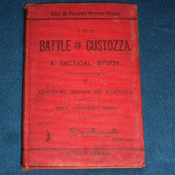 Cale & Polden's Battle of Custozza 1894