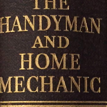 The handy man and home mechanic. - Books