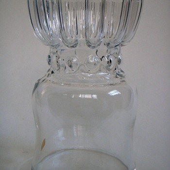 Kosta Boda Vase with Ruffled top~Designer?