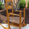 Child's Rocker or Ladies Rocker 3 Slat Ladderback Hickory Seat
