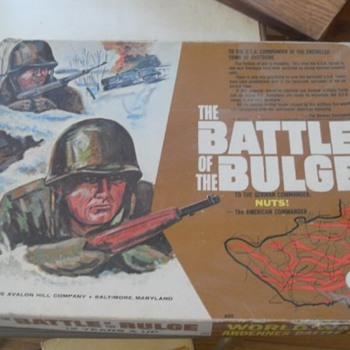 Battle of the Bulge - Games