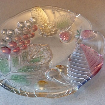 Art glass dish - Art Glass