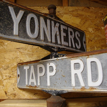 Vintage 1970's Street Signs............