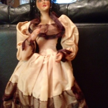 Old Spanish  or Mexican Doll
