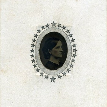 Two 1860s Gem Tintypes Associated with Simon Wing