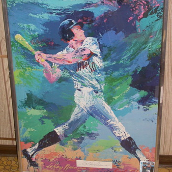 Rusty Staub New York Mets Signed Leroy Neiman