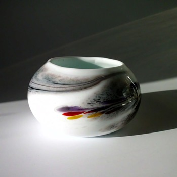 Little bowl possibly of the Holmegaard Cascade Series by Per Lütken - Art Glass