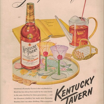 1950 Kentucky Tavern Advertisement
