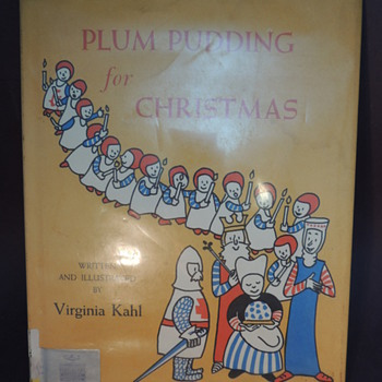 Plum Pudding for Christmas by Virginia Kahl  - Books