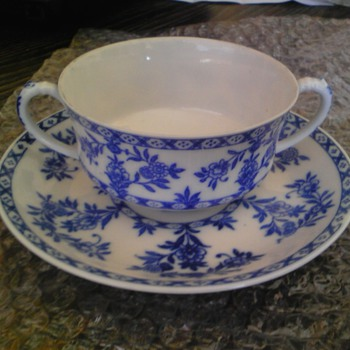 antique nippon cobalt blue ware late 1800s - Asian