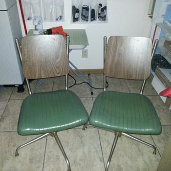 Neat Office Chairs - Mid Century Modern
