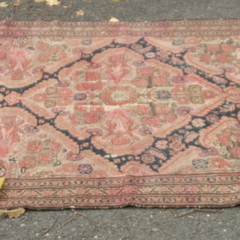 can anyone identify my Persian(?) rug??