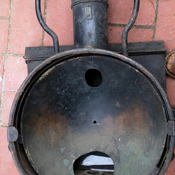 Unknown  ship Railroad Train Light Metal Lantern