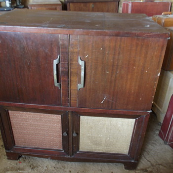 Antique Version of an Entertainment Center? - Furniture