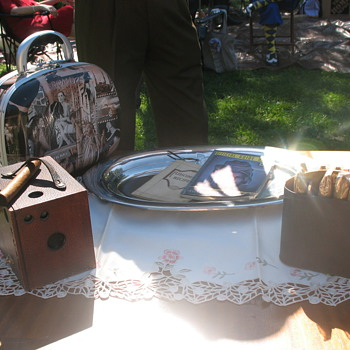 Gatsby Summer Afternoon - Brownie camera and sundry antiques