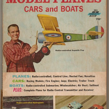 1965 - Handbook of Model Planes, Cars, and Boats - Books