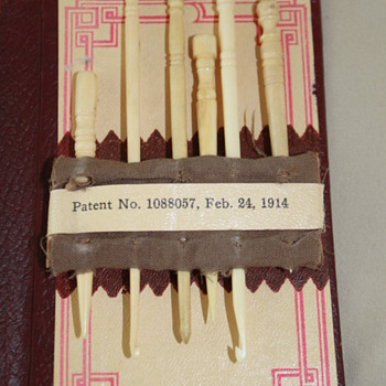 Antique Ivory Needles