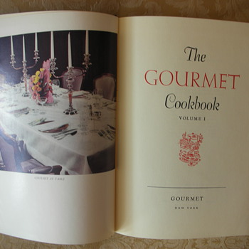 The Gourmet Cookbook  Volume 1, 1950 - Books