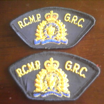 RCMP Velcro Shoulder Badge - Military and Wartime