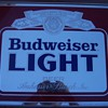 Budweiser Light Mirror