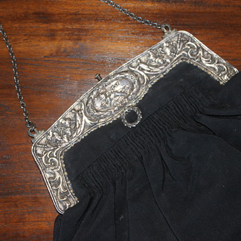 Victorian Sterling Silver Purse - Accessories