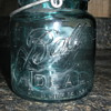 Blue Ball Ideal Pint jar