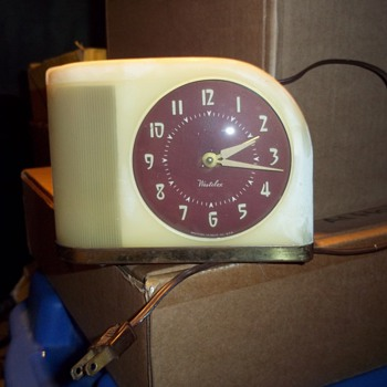 Westclox Moonbeam alarm clock - Clocks