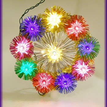 Another Vintage CHRISTMAS TREE TOPPER - Christmas
