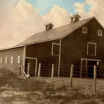 Another Family Farm Barn early 1900's /Challenge Barn Dances - Photographs