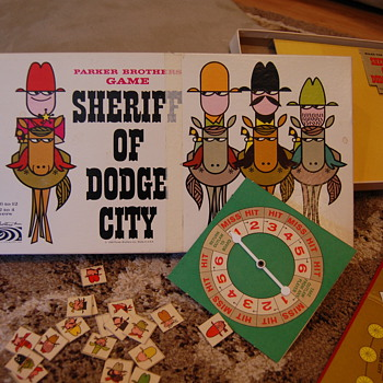 Sheriff of Dodge City - Games